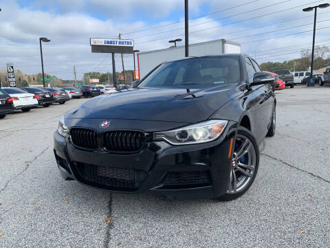 2015 BMW 3 Series for sale at Trust Autos, LLC in Decatur GA