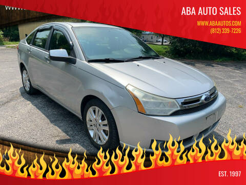 2010 Ford Focus for sale at ABA Auto Sales in Bloomington IN