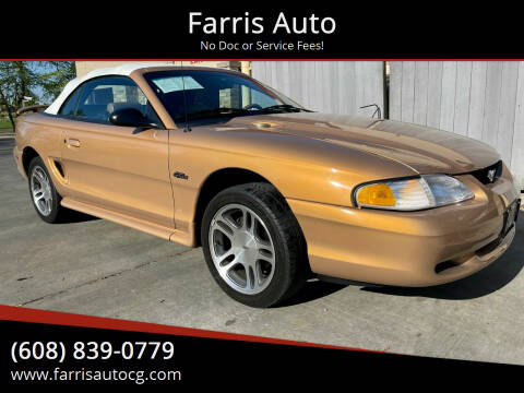 1997 Ford Mustang for sale at Farris Auto - Main Street in Stoughton WI