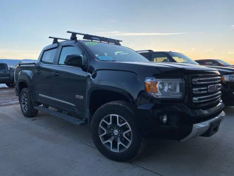 2017 GMC Canyon for sale at FAST LANE AUTOS in Spearfish SD