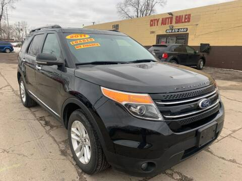 2011 Ford Explorer for sale at City Auto Sales in Roseville MI