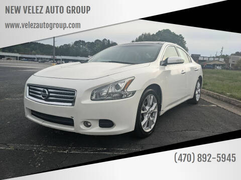 2012 Nissan Maxima for sale at NEW VELEZ AUTO GROUP in Gainesville GA