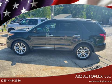 2012 Ford Explorer for sale at ABZ Autoplex, LLC in Baton Rouge LA