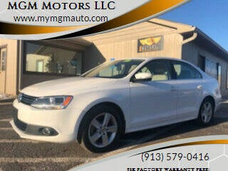 2012 Volkswagen Jetta for sale at MGM Motors LLC in De Soto KS