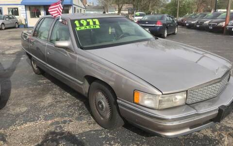 1995 Cadillac DeVille for sale at Klein on Vine in Cincinnati OH