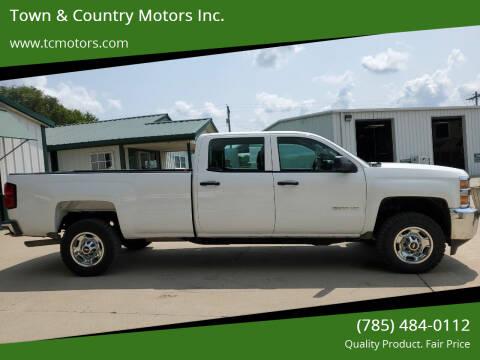 2015 Chevrolet Silverado 2500HD for sale at Town & Country Motors Inc. in Meriden KS