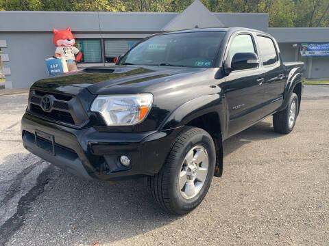 2012 Toyota Tacoma for sale at B & P Motors LTD in Glenshaw PA