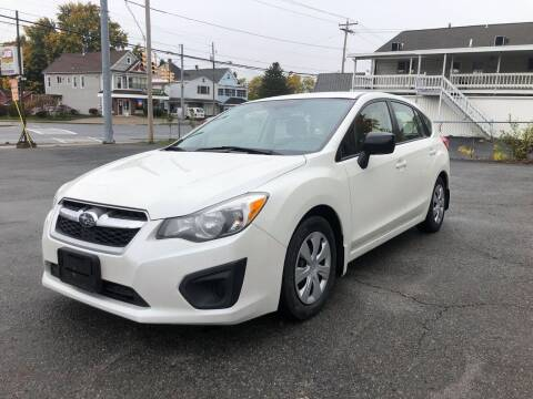 2014 Subaru Impreza for sale at JB Auto Sales in Schenectady NY