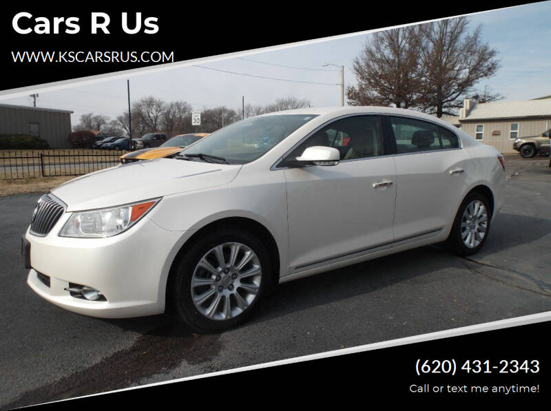 2013 Buick LaCrosse for sale at Cars R Us in Chanute KS