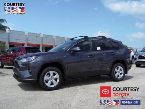 2020 Toyota RAV4 Hybrid for sale at Courtesy Toyota & Ford in Morgan City LA