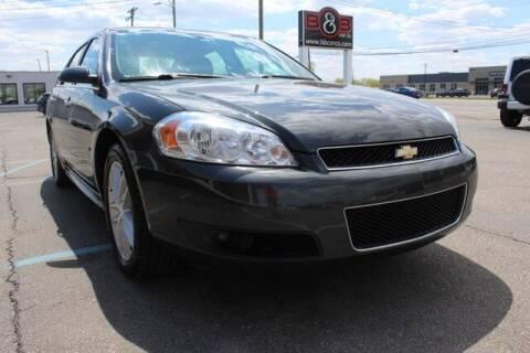 2012 Chevrolet Impala for sale at B & B Car Co Inc. in Clinton Twp MI