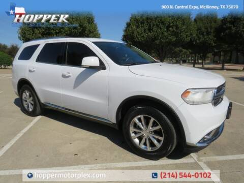 2015 Dodge Durango for sale at HOPPER MOTORPLEX in Mckinney TX