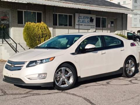 2013 Chevrolet Volt for sale at Clean Fuels Utah in Orem UT