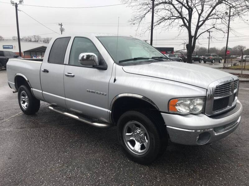 2003 Dodge Ram Pickup 1500 for sale at Cherry Motors in Greenville SC