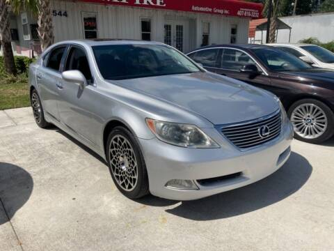 2009 Lexus LS 460 for sale at Empire Automotive Group Inc. in Orlando FL