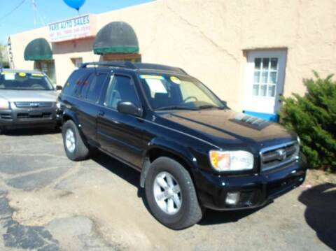2004 Nissan Pathfinder for sale at PARS AUTO SALES in Tucson AZ