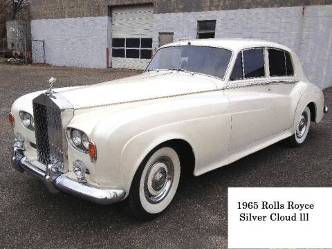 1965 Rolls-Royce Silver Cloud 3 for sale at Black Tie Classics in Stratford NJ