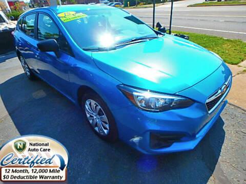 2018 Subaru Impreza for sale at Jon's Auto in Marquette MI