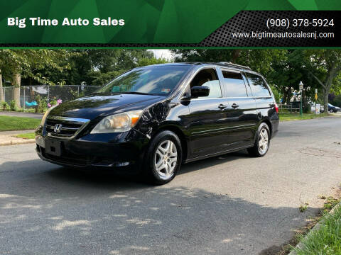 2006 Honda Odyssey for sale at Big Time Auto Sales in Vauxhall NJ