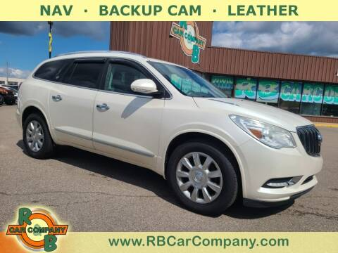 2013 Buick Enclave for sale at R & B Car Co in Warsaw IN