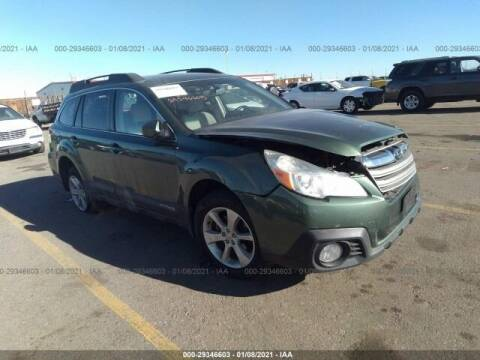 2014 Subaru Outback for sale at STS Automotive in Denver CO