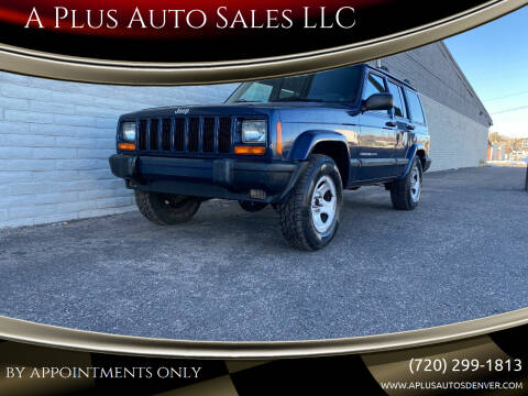 2001 Jeep Cherokee for sale at A Plus Auto Sales LLC in Denver CO