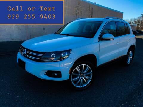 2014 Volkswagen Tiguan for sale at Ultimate Motors in Port Monmouth NJ