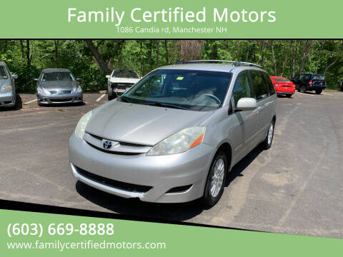 2008 Toyota Sienna for sale at Family Certified Motors in Manchester NH