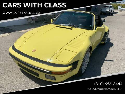 1987 Porsche 911 for sale at CARS WITH CLASS in Santa Monica CA