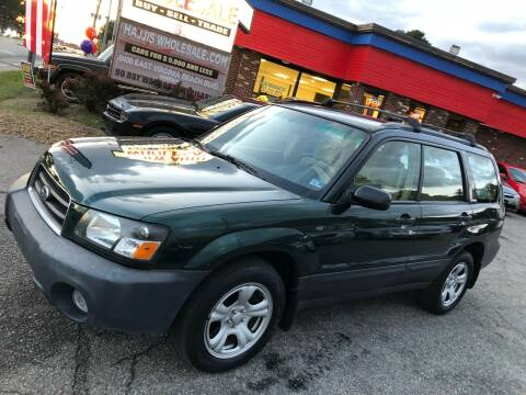 2003 Subaru Forester for sale at HW Auto Wholesale in Norfolk VA
