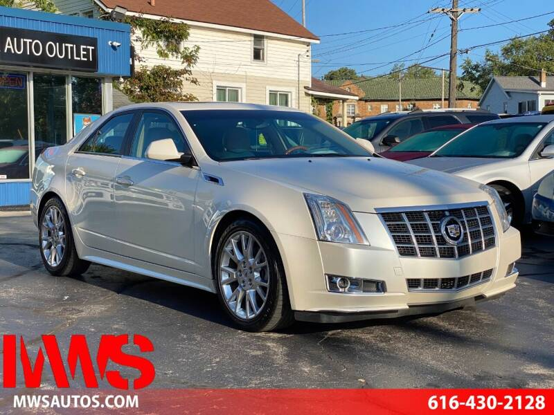 2013 Cadillac CTS for sale at MWS Wholesale  Auto Outlet in Grand Rapids MI