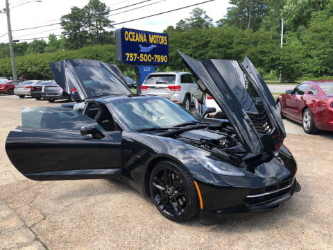 2015 Chevrolet Corvette for sale at Oceana Motors in Virginia Beach VA