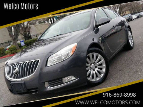 2011 Buick Regal for sale at Welco Motors in Rancho Cordova CA