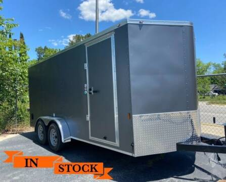 2021 FR 7 x 16 TA 2 for sale at Grizzly Trailers in Fitzgerald GA