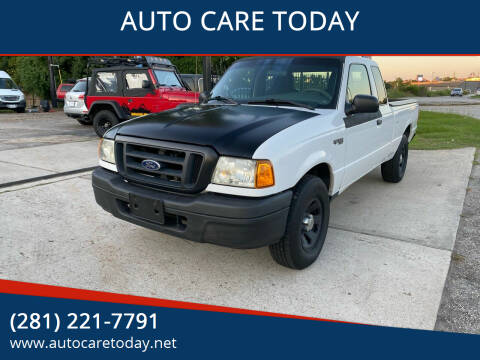2004 Ford Ranger for sale at AUTO CARE TODAY in Spring TX