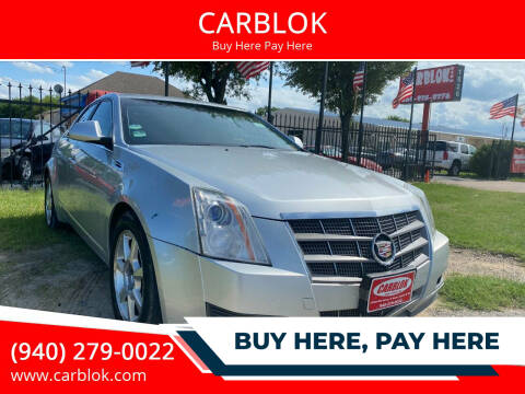 2009 Cadillac CTS for sale at CARBLOK in Lewisville TX