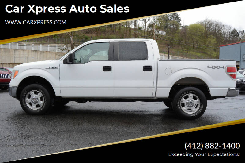 2010 Ford F-150 for sale at Car Xpress Auto Sales in Pittsburgh PA