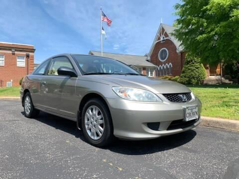 2004 Honda Civic for sale at Automax of Eden in Eden NC