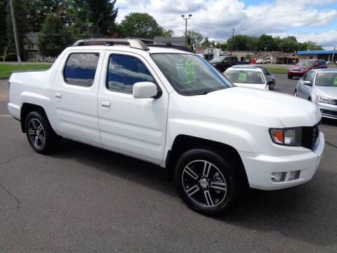 2013 Honda Ridgeline for sale at BETTER BUYS AUTO INC in East Windsor CT