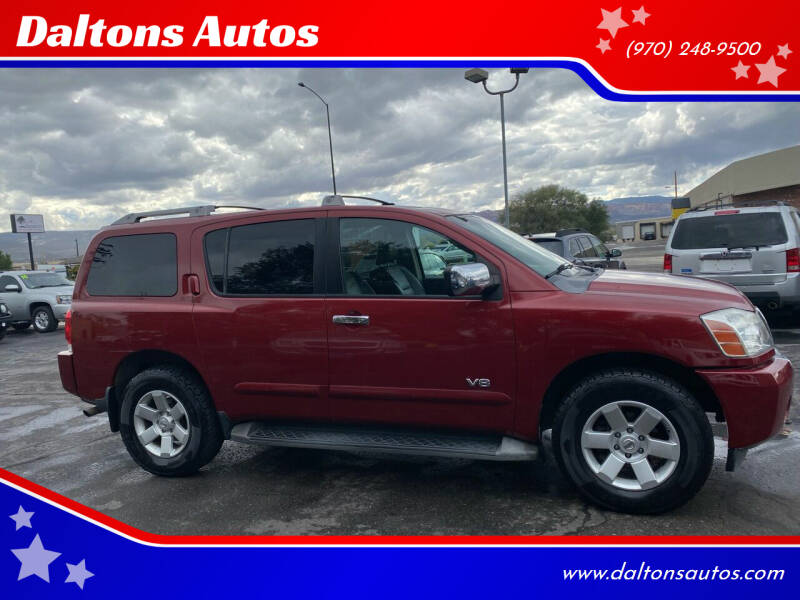 2006 Nissan Armada for sale at Daltons Autos in Grand Junction CO
