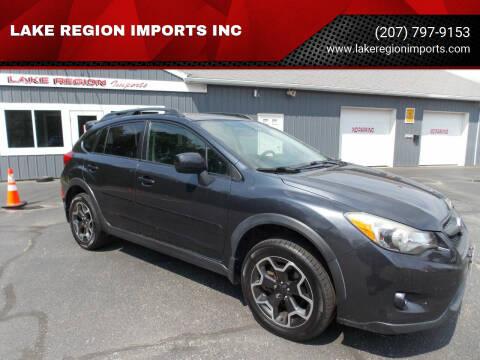 2013 Subaru XV Crosstrek for sale at LAKE REGION IMPORTS INC in Westbrook ME