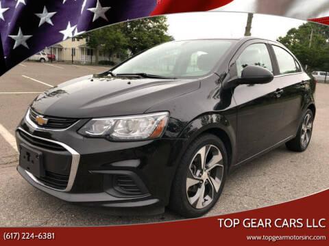 2017 Chevrolet Sonic for sale at Top Gear Cars LLC in Lynn MA