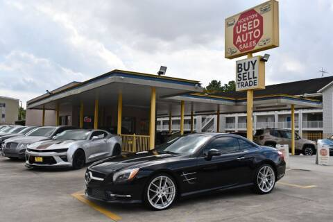 2013 Mercedes-Benz SL-Class for sale at Houston Used Auto Sales in Houston TX