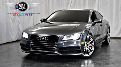 2013 Audi A7 for sale at ZONE MOTORS in Addison IL