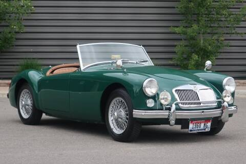 1960 MG MGA for sale at Sun Valley Auto Sales in Hailey ID