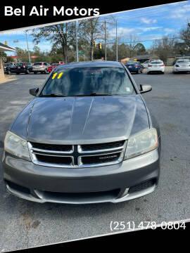 2011 Dodge Avenger for sale at Bel Air Motors in Mobile AL