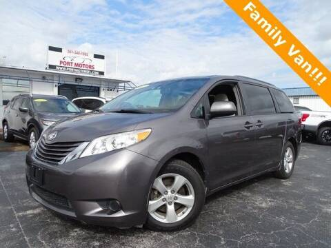 2015 Toyota Sienna for sale at Port Motors in West Palm Beach FL