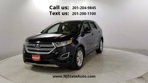 2016 Ford Edge for sale at NJ State Auto Used Cars in Jersey City NJ