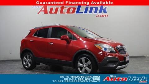 2013 Buick Encore for sale at The Auto Link Inc. in Bartonville IL