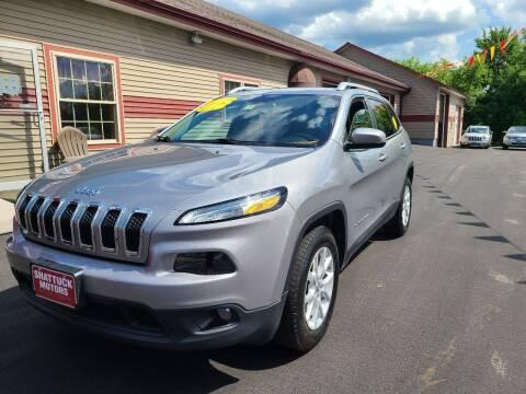 2016 Jeep Cherokee for sale at Shattuck Motors in Newport VT